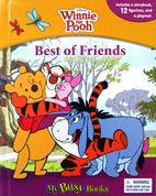 My Busy Book Disney Winnie the Pooh Best of Friends  includes a Storybook, 12 Toy Figurines and a Giant Playmat