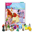 My Busy Book Disney Princess Great Adventures includes a Storybook, 12 Figurines and a Playmat (Cover Biru Muda)