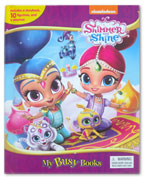 My Busy Book Nickelodeon Shimmer and Shine includes a Storybook, 10 Figurines and a Playmat