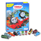 My Busy Book Thomas & Friends includes a Storybook, 12 Toy Figurines and a Giant Playmat