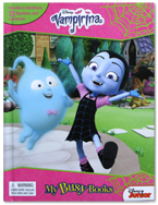 My Busy Books Disney Vampirina includes a Storybook, 12 Toy Figurines and a Giant Playmat