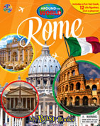 My Busy Book Around the World Rome includes a Storybook, 12 Toy Figurines and a Giant Playmat