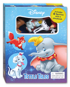 Tattle Tales Disney Animal Includes 4 Figurines and a Storybook