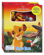 Tattle Tales Disney The Lion King Includes 4 Figurines and a Storybook