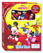 Tattle Tales Disney Junior Mickey Includes 4 Figurines and a Storybook