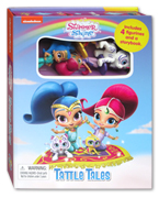 Tattle Tales Nickelodeon Shimmer and Shine Includes 4 Figurines and a Storybook