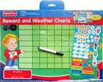 Fisher Price Reward and Weather Charts