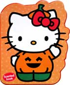 Hello Kitty Halloween (ORANGE) Scented Chunky Book