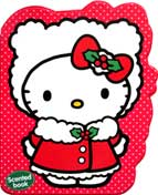 Hello Kitty Christmas (RED) Scented Chunky Book