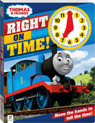 Thomas & Friends Right on Time! Board Book with an Interactive Clock
