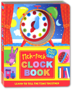 Tiny Tots Tick-Tock Clock Book with Moveable Clock Hands