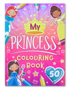 My Princcess Colouring Book With Over 50 Pretty Stickers