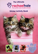 The Ultimate Rachaelhale The World's Most Lovable Animals Sticker Activity Book with 20 Stickers Inside