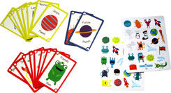 Create a Story Space with 40 Prompt Ideas and 40 Space Stickers
