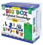 Big Box of Alphabet Knowledge Game (Learn about alphabet and their sounds with playing with 250 photo puzzle pieces) (SALE!!)