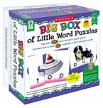 Big Box of Little Word Puzzles Game (play with 180 word-photo puzzle pieces and learn how to spell 60 three-letter words)