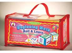 Beginning Math Roll & Learn (Pocket cubes for math learning fun) (SALE!!)