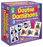 Double Dominoes 2 Games in One! Colors & Numbers