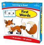 Learning to Read First Words Game