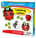 Learning the Alphabet Ladybug Letters Game