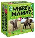 Where's Mama? - A Parent & Baby Animal Matching Game (48 Cards)