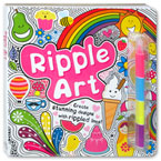 Ripple Art Create Stunning Designs With Rippled Lines!