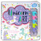 Unicorn Art With 5-Tier Colouring Stack!