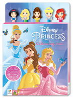 Disney Princess Colouring Fun (With over 30 Activities plus 5 Pencils & Erasers)