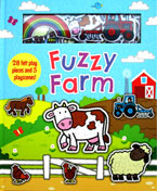 Fuzzy Farm with 28 felt play pieces and 5 playscenes