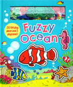 Fuzzy Ocean with 20 felt play pieces and 5 playscenes
