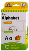 Evan Moor The Alphabet Flash Cards (56 Cards)