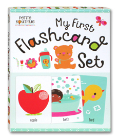 Petite Boutique My First Flashcard Set