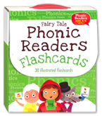 Fairy Tale Phonic Readers Flashcards Level 3 (Age 4-6) - 30 Ilustrated Flashcards