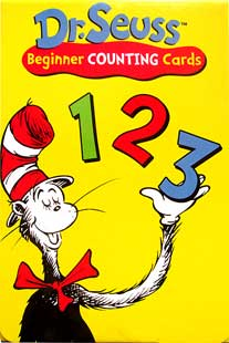 Dr.Seuss Beginner Counting Cards 123
