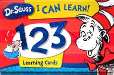 Dr.Seuss I Can Learn 123 Learning Cards