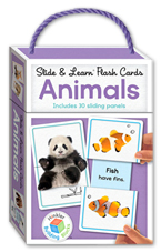Slide & Learn Flash Cards ANIMALS