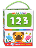 123 Tiny Tots Flash Cards (40 Large Flash Cards) (CLEARANCE SALE)