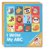 I Write My ABC Wipe and Clean Flashcards (Bonus Marker & Poster)