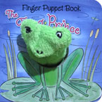 The Frog Prince - Fairy Tale Finger Puppet Board Book