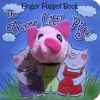 The Three Little Pigs - Fairy Tale Finger Puppet Board Book