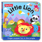Fisher Price Little Lion Finger Puppet Board Book (Finger Puppet Fun in the jungle)