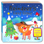 Reindeer's First Flight Finger Puppet Board Book