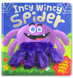 Incy Wincy Spider Board Book (With Jiggly, Wiggly Legs)