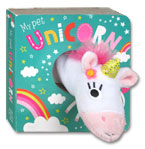 My Pet Unicorn Finger Puppet Board Book
