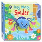 Incy Wincy Spider Finger Puppet Board Book
