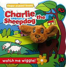 Charlie the Sheepdog - Wiggly Finger Puppet Board Book