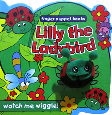 Lilly the Ladybird - Wiggly Finger Puppet Board Book