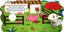 Shelley the Sheep - Wiggly Finger Puppet Board Book