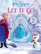 Disney Frozen Let It Go! Board Book with Spinning Elsa