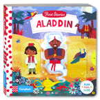 First Stories Aladdin - Push Pull Slide Board Book